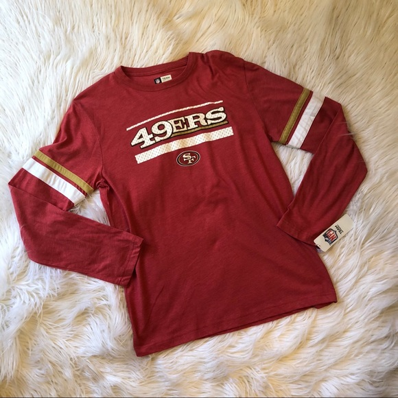 aa86c9520ea NFL San Francisco 49ers long sleeve mens tee